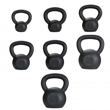 Cast Iron Kettlebells 4kg - 20kg