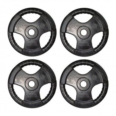 Econo 80kg Olympic Rubber Plate
