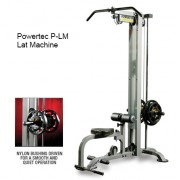 P-LM13 Powertec Lat Machine Back - New and Improved.