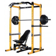 Powertec Power Rack Gym at Work