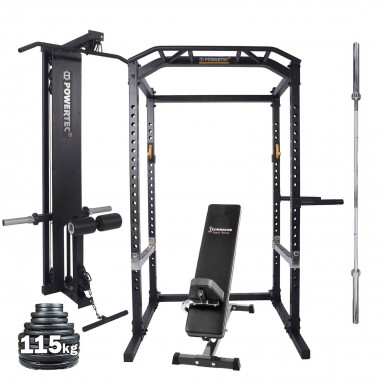 Powertec Power Rack System Package