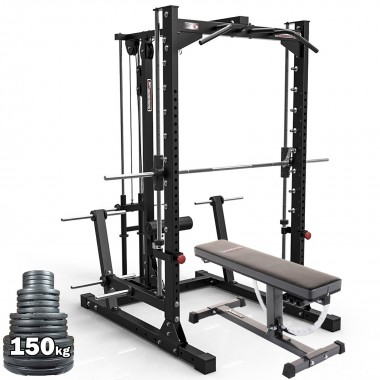 Barbarian Smith Machine System Plate Loaded Package