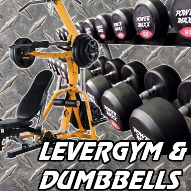 Powertec LeverGym and Dumbbell Gym