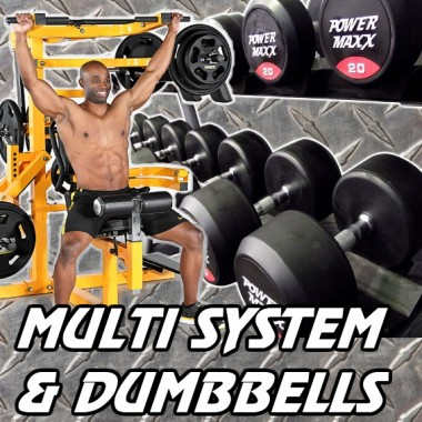 Powertec Multi System and Dumbbell Gym