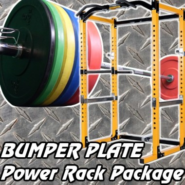 Power Rack Bumper Package