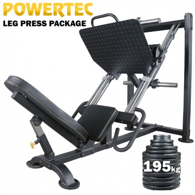Powertec Leg Press Package