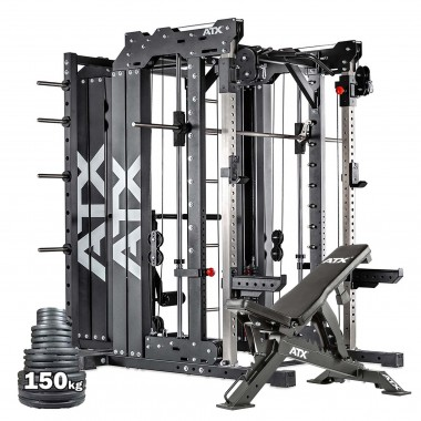ATX® Smith Cable Rack System Weight Stack Package