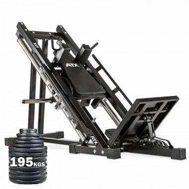 ATX® Leg Press Hack Squat + 195 kg of weights