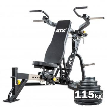 ATX® Leverage Multi Press + 115kgs Package