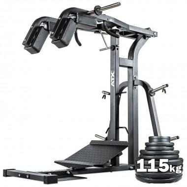 ATX® Squat Calf Machine + 115kgs