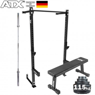 ATX® Wall Mounted Half Rack Package