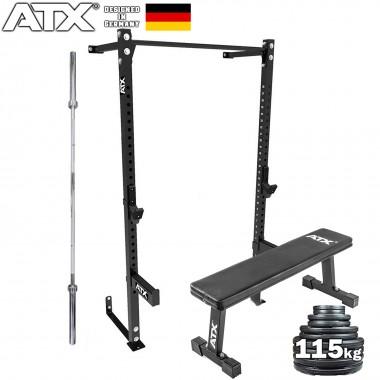 ATX® Wall Mounted Half Rack Package
