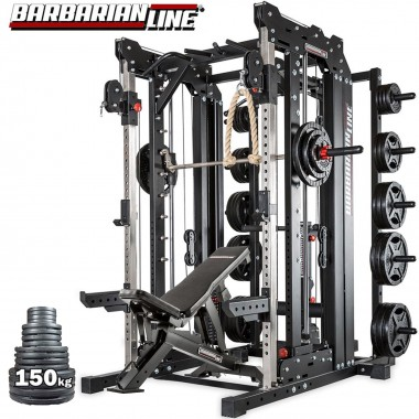 Barbarian Smith Cable Rack System Weight Stack Package