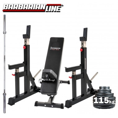 Barbarian Squat Stands - PRO Package