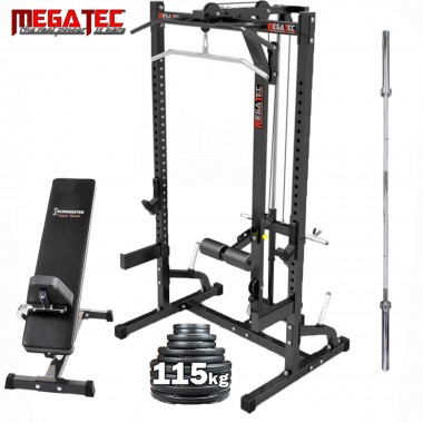 Megatec Half Rack System Plate Loaded Package