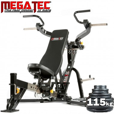 Megatec Leverage Multi Press + 115kgs