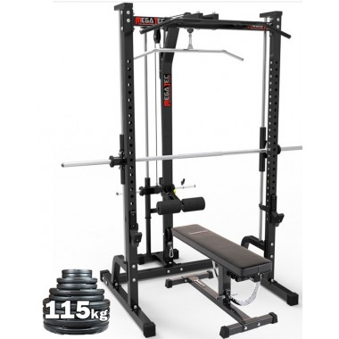 Megatec Smith Machine Plate Loaded Package