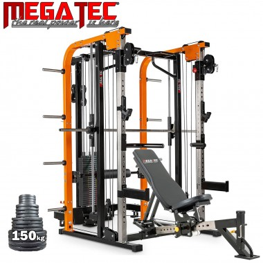 Megatec Smith Cable Rack Stack Weight Package