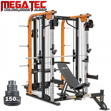 Megatec Smith Cable Rack Package Plate Loaded
