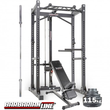 Barbarian Power Cage System Plate Loaded Package