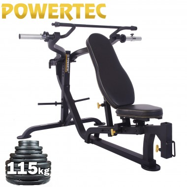 POWERTEC Multi Press Weight Plate Package