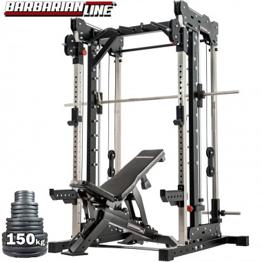 Barbarian Smith Cable Rack Plate Loaded Package
