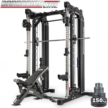 Barbarian Smith Cable Rack Stack Weight Package