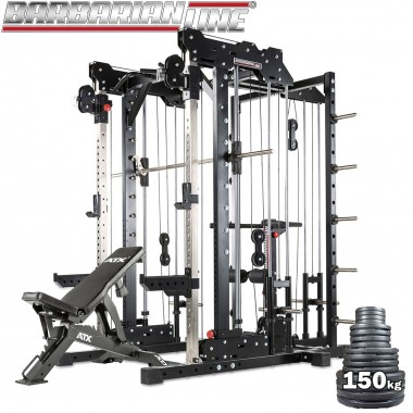 Barbarian Smith Cable Rack System Plate Loaded Package