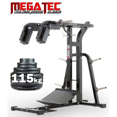 Megatec Squat Calf Machine + 115kgs