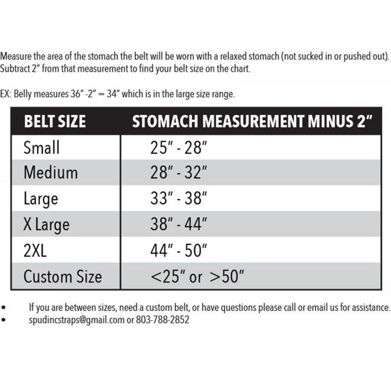 Spud Inc 3 Ply Deadlift Belt