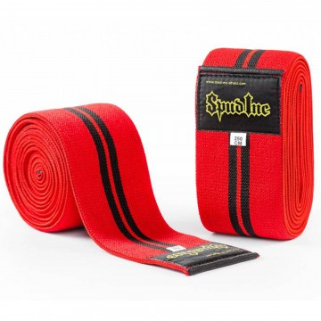 Knee Wraps provide additional support when squatting allowing you to train with heavier loads!
