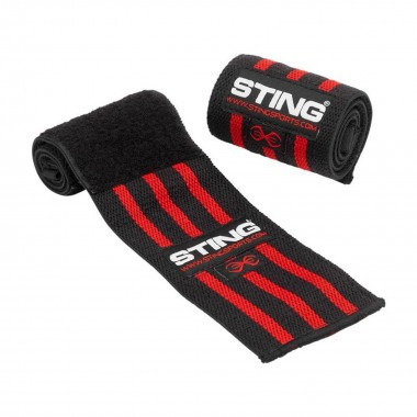 "Sting 18"" Wrist Wraps Elasticised"