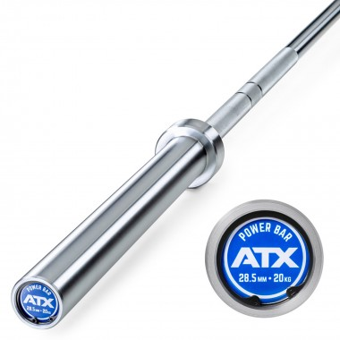 ATX® Olympic Power Bar Chrome