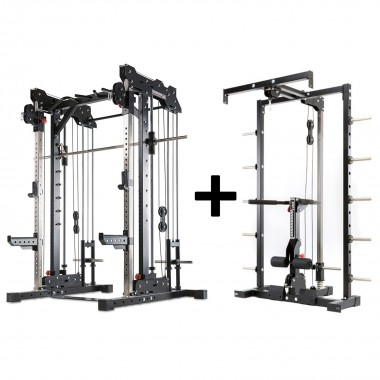 Barbarian Smith Cable Rack System Plate Loaded