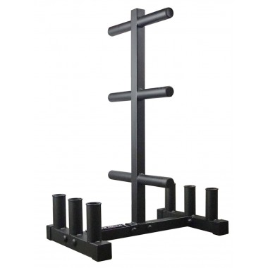 Power Maxx Olympic Plate Barbell Stand