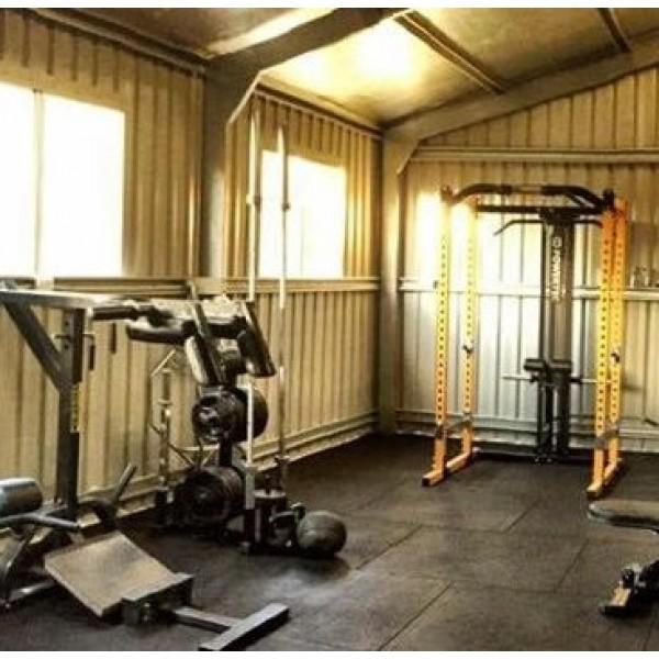 Turn your backyard shed into a gym home gym backyard gym diy