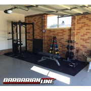 Colins New Free Weight Training Gym