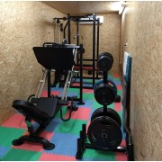 Mikes Shipping Container Gym