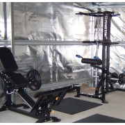 Ross and his Home Gym in Tasmania