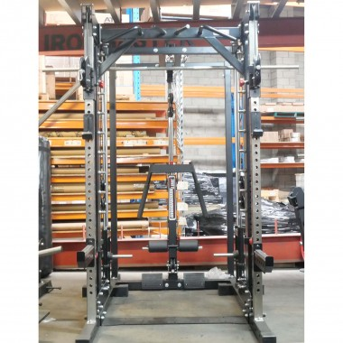 Barbarian Smith Cable Rack System Plate Loaded - Floor Model