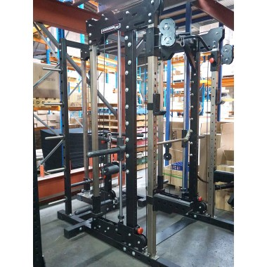 BARBARIAN Smith Cable Rack Plate Loaded System - Floor Model