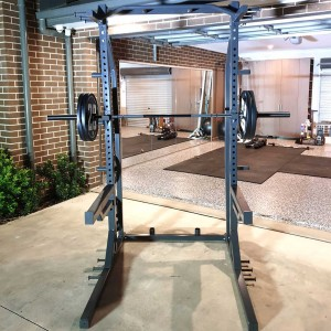 RIGID Fitness Half Rack - 100% Australian Made