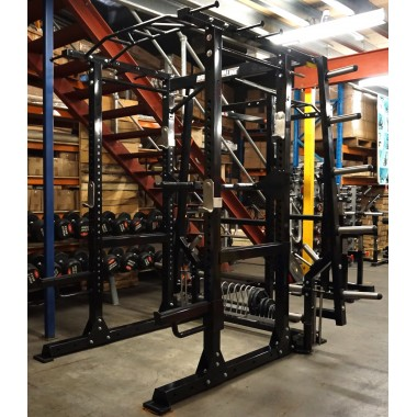 Barbarian PRO Functional Commercial Power Rack Floor Model