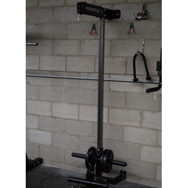 Barbarian Wall Mounted Lat Pulldown - Floor Model