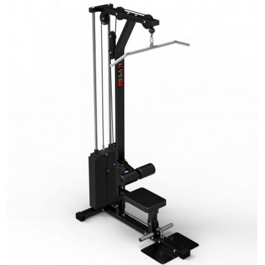 Megatec Lat Machine 115kg Weight Stack - Factory Model New