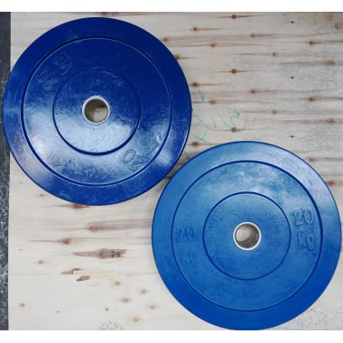60 kgs Coloured Olympic Weight Plate Set