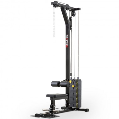 Megatec Lat Machine 115kg Weight Stack - Discounted