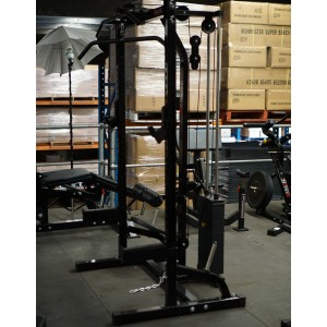 Megatec Half Rack System 115kg Weight Stack - Floor Model