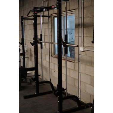 Megatec Smith Machine Half Rack - Floor Model