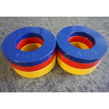 4.5kg Fractional Olympic Plates - Floor Model